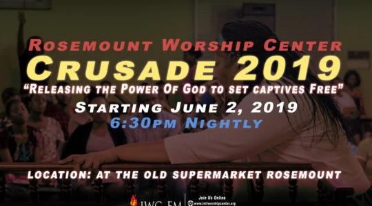 Crusade 2019