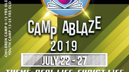 Camp Ablaze 2019